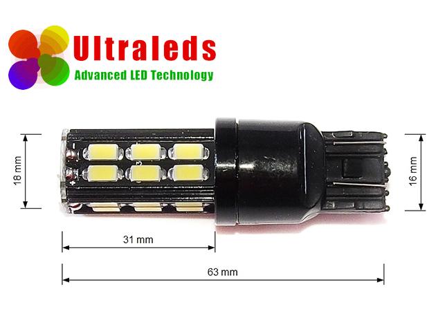 Żarówka T20 W21W/5W 7443 diody 30 x 5630 LED DRL